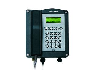 Explosionproof Telephone ExResistTel for Zone 1, 2, 21, 22